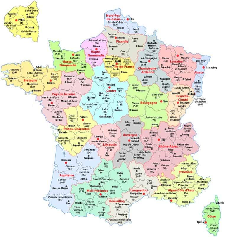 Map Of France Political.France Map Ephotopix