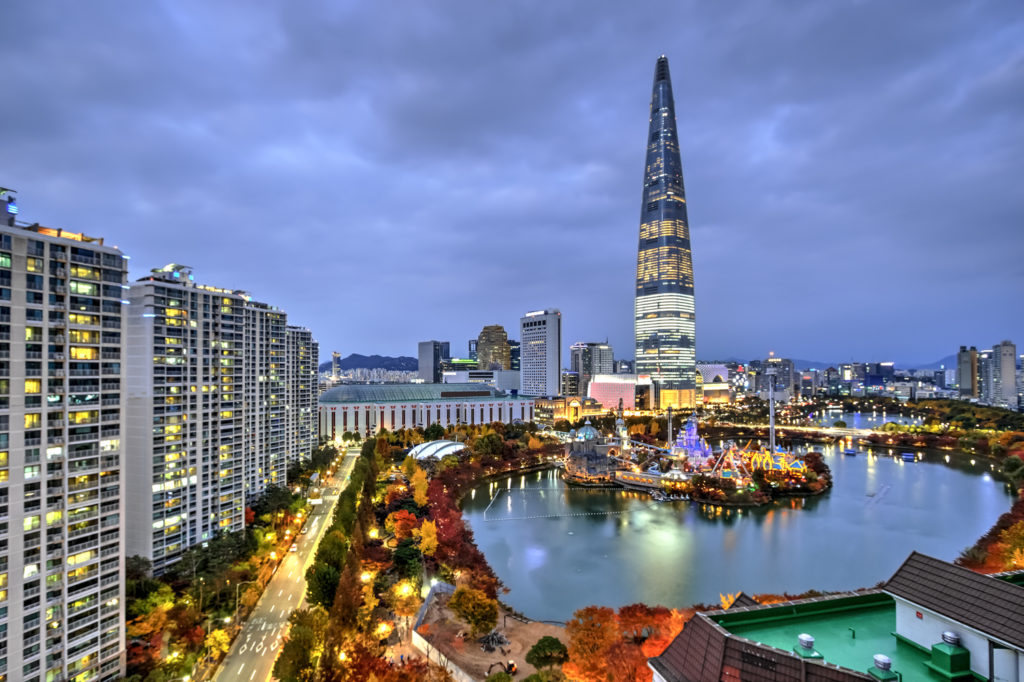 Tallest Building in South Korea: The Lotte World Tower