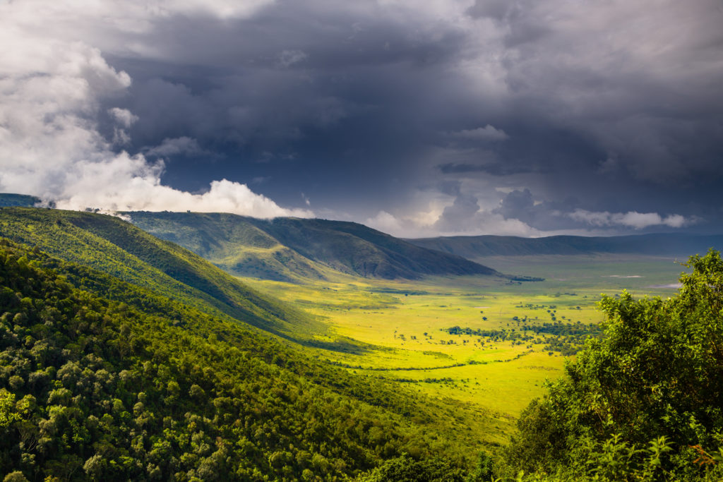 Epic landscapes of the Ngorongoro Crater