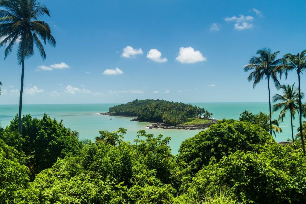 Devil's Island off the coast of French Guiana
