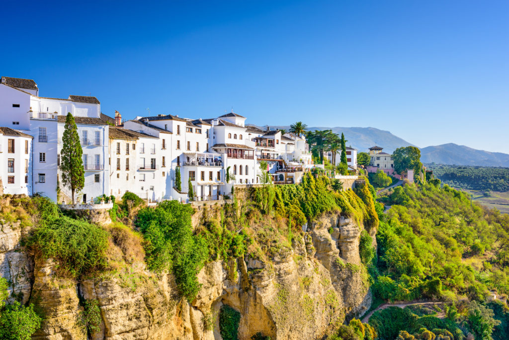 Hillside town of Ronda
