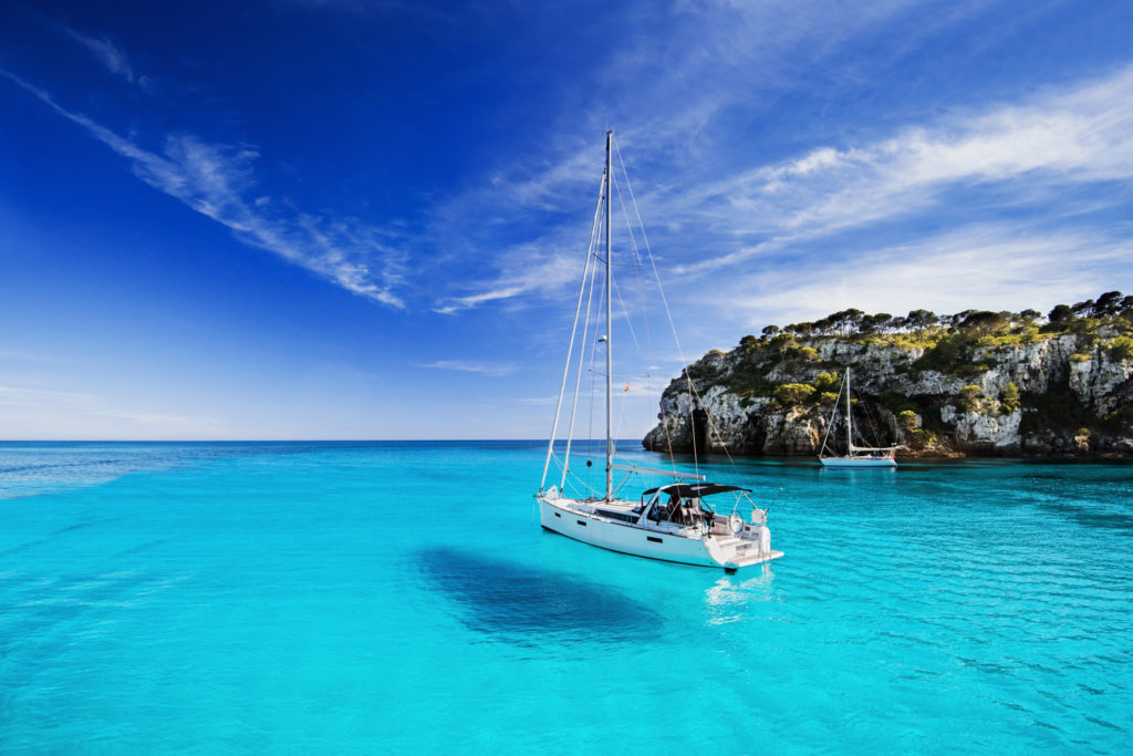 Menorca is a popular tourist destination in the Spanish Balearic Islands